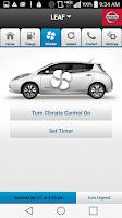 Screenshot of Nissan LEAF