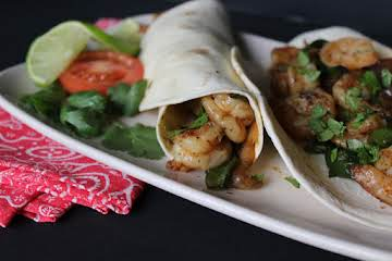 Shrimp Fajitas for Two