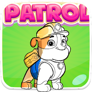 Patrol Puppy Coloring Book Game For Kids