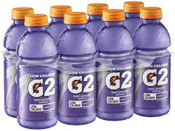 Gatorade G2 Low CalorieSports Drink - Grape, 8 Pack