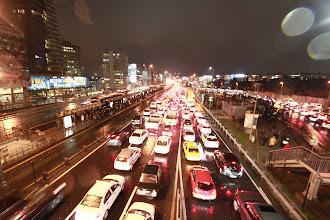 Photo: Stambulo eismas.   Istanbul traffic.