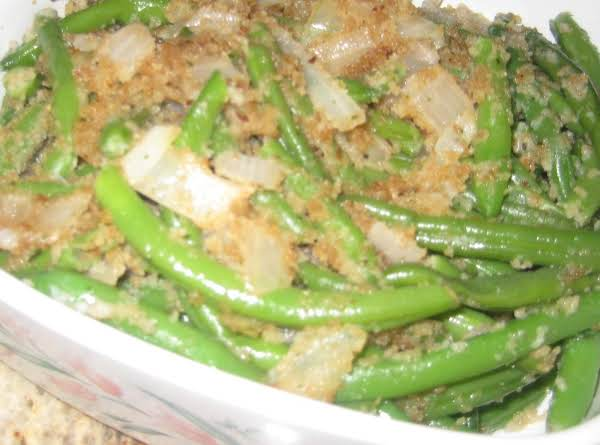 Queenie's String Beans Recipe