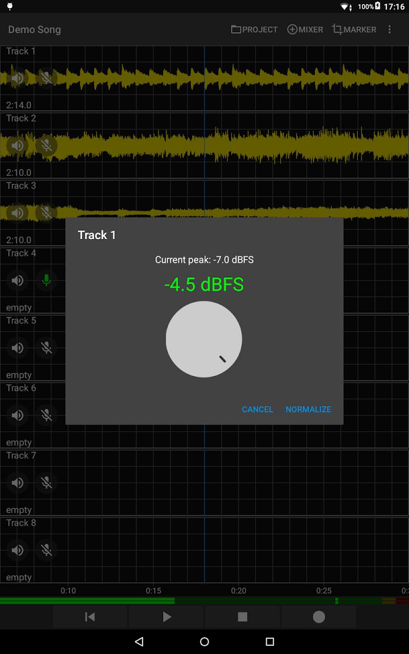 Aubade Audio Studio Screenshot 6