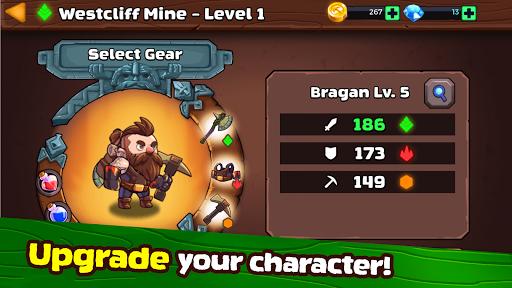 mine quest 2: ⚔️ rpg roguelike dungeon crawler ⛏ screenshot 3