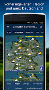 The Weather in Germany: Radar, weather warnings APK image thumbnail 3