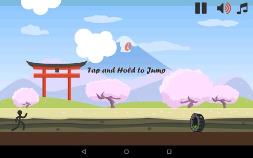 Stickman Games: Japan Run