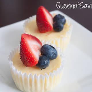 Mini Oreo Cheesecakes.