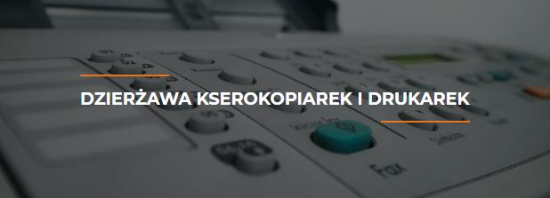 Dzierżawa kserokopiarek i drukarek Warszawa