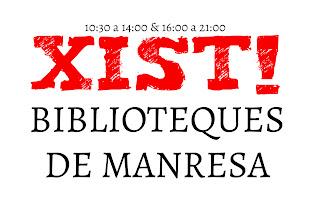 Photo: Esbós gairebé final del 3r logotip crític que presento a l'infame concurs de logotips de les Biblioteques de Manresa