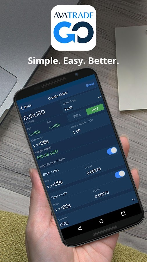 AvaTradeGO - Trading App- screenshot