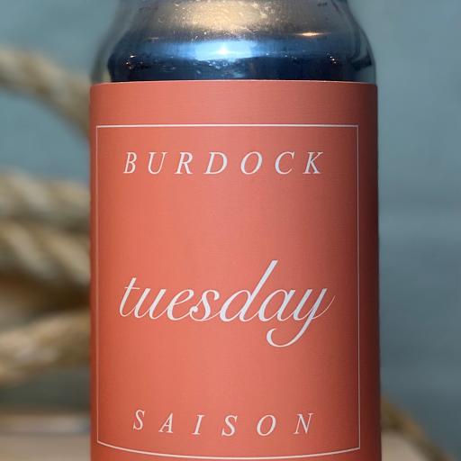 Burdock Brewery Tuesday Saison 355ml can Single