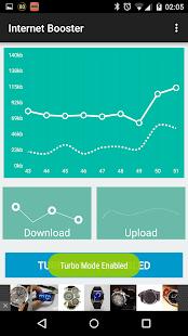 6 Internet Booster Prank App screenshot