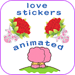 Animated Love Stickers Icon