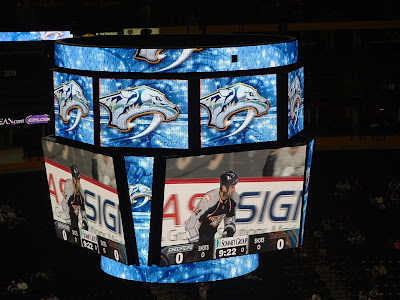 New Nashville Predators Scoreboard