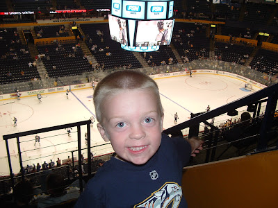 Littlest Forechecker's First Predators Game