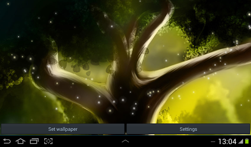 Fairy Tree Live Wallpaper screenshot 10