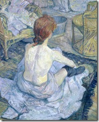 Woman at Her Toilet, Henri de Toulouse-Lautrec