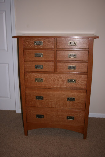 Stickley/Harvey Ellis Chest of Drawers 2