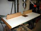 Super-simple drill press table upgrade