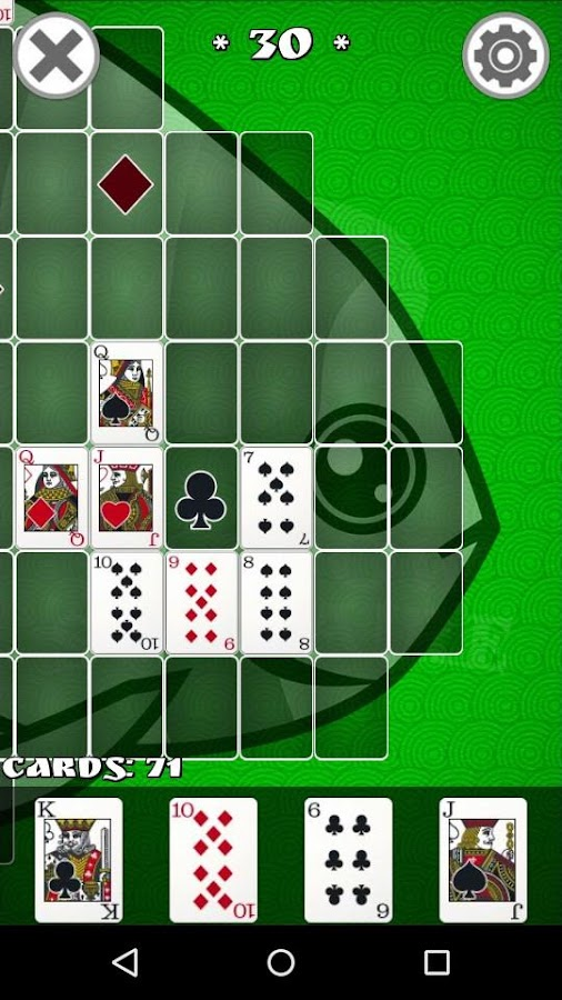 Shadow Solitaire- screenshot