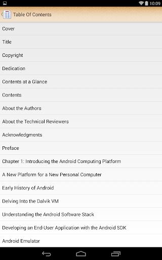 ePub Reader for Android 2.1.2 screenshots 18