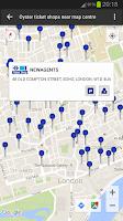 Screenshot of London Oyster Contactless +