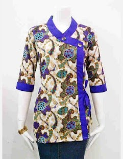 Model Baju Batik Kantor Wanita  Android Apps on Google Play