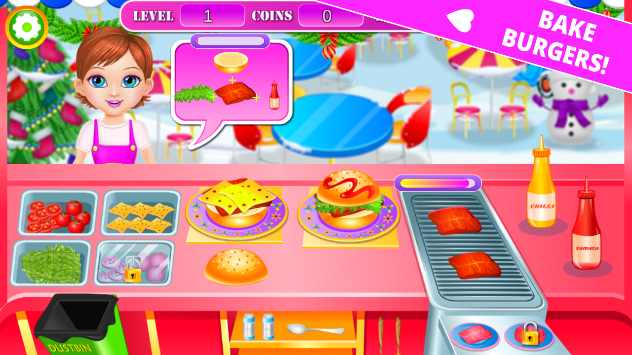 Street Food Kitchen Chef Cooking Game Android Apps On Google Play