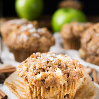 Sugar-on-Top Apple Muffins