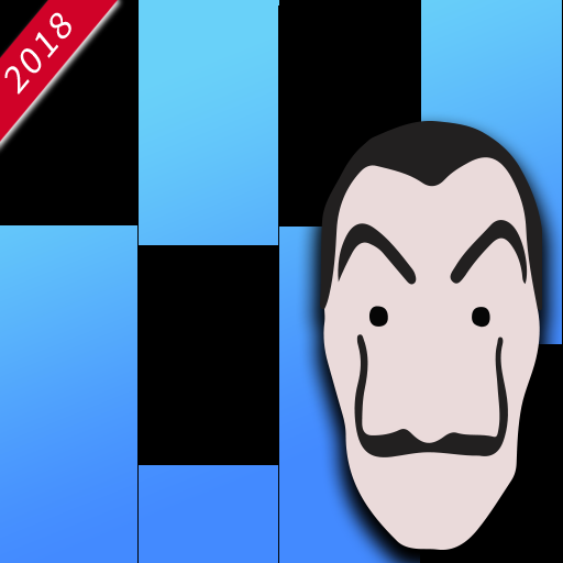 LaCasa De Papel - Piano Tiles 2018