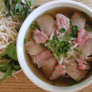 Beef Pho (Pho Bo).