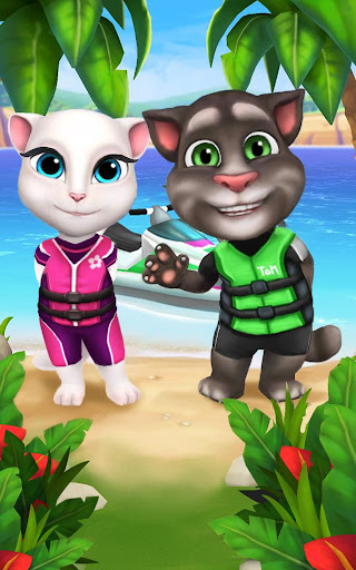 Talking Tom Jetski screenshot 10
