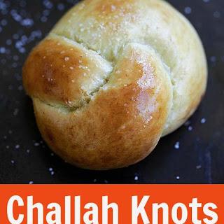 Challah Knots.