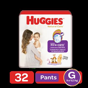 Pañales Pants Huggies   Natural Care G Etapa 3 x 32 und
