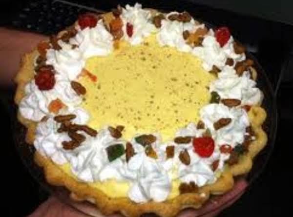 Rum Eggnog Pie Recipe