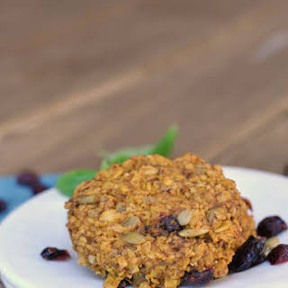 Pumpkin-Oat Breakfast Cookies.