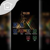 Triangle Rainbow In Dark Theme
