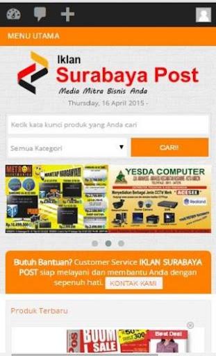 Iklan Surabaya Post