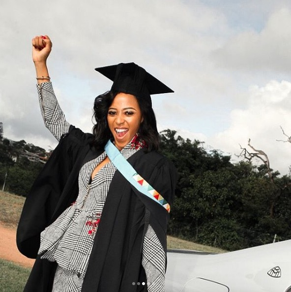 Sbahle Mpisane went and got that degree.