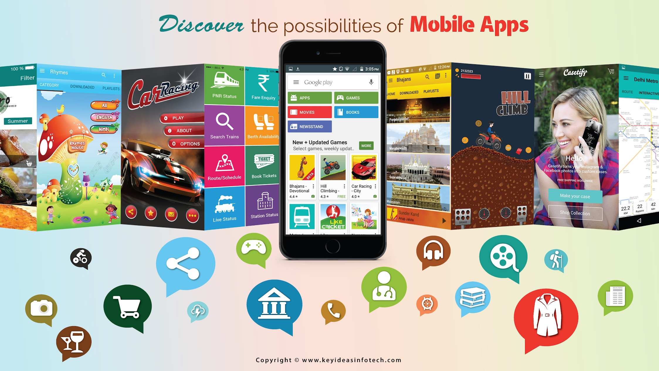 🏆 Keyideas: Free Mobile Apps India