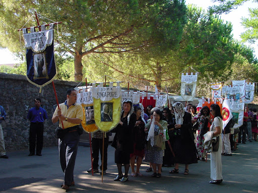 聖ピオ十世会ローマ巡礼
