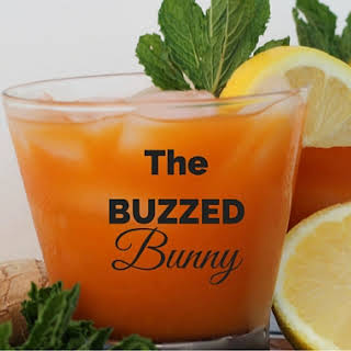 The Buzzed Bunny Easter Cocktail.