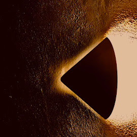Scared by Eirin Hansen - Abstract Macro