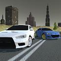 Driving Lancer Evo Drag Racing Drift Car Simulator icon
