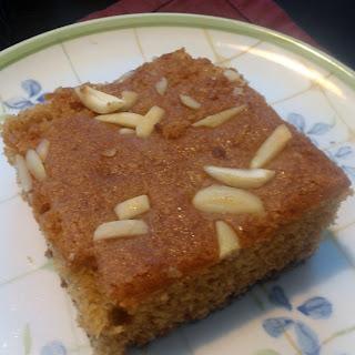 Fijian Honey Cake.