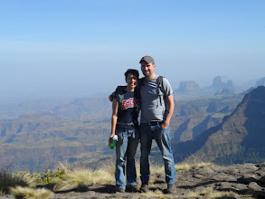 Photo: Trekking in Simien Mountains National Park