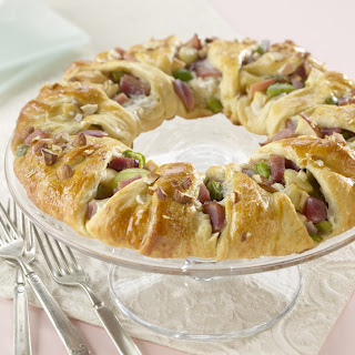 Ham and Almond Pastry Ring.