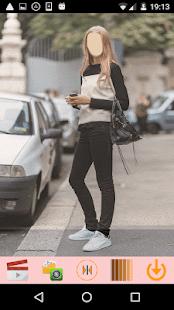 Street Styles Girls Look - náhled