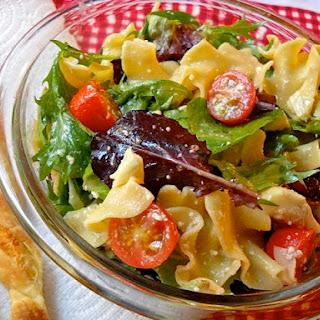Pasta Salad (literally)