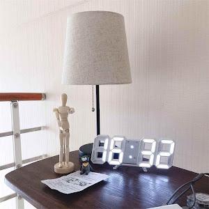 Ceas digital cu ecran LED si cifre mari, LTC04 3D